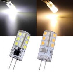 G4 1.5W Varm Hvid / Hvid 24 SMD 3528 220V LED Pære