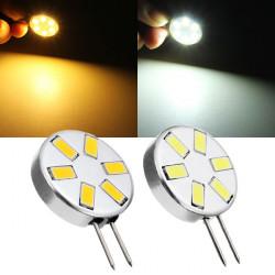 G4 1.8W Pure White/Warm White 6 SMD 5730 LED Light Lamp Bulb 12V