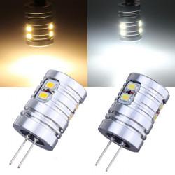 G4 1,8 W Varmvit / Vit 10 SMD 3020 12V LED-lampa