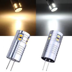 G4 2.2W Warm White/White 10 SMD 3020 12V LED Light Bulb
