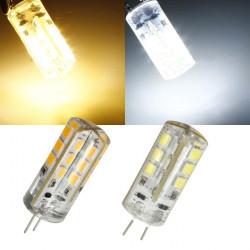 G4 2.2W Vit / Varmvit 24 SMD 2835 12V LED Corn Light Bulb