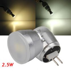 G4 2.5W Varmvit / Vit 5630smd LED Aluminium Die-Casting Glödlampa 220V