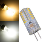 G4 2.6W Varmvit / Pure Vit 48 SMD 3014 LED-Lampa 220V LED-lampor