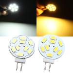 G4 2W Weiß / Warmweiß 9 SMD 5730 LED Licht Lampen Birne 12V LED Lampen