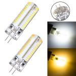 G4 3.5W 220V 104 SMD 3014 White/Warm White LED Silicon Crystal Bulb LED Light Bulbs