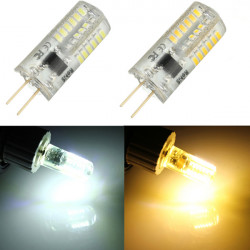 G4 3W 48 3014SMD LED Bulb Lamp Light Warm White/Pure White AC 110V