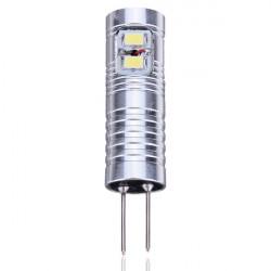 G4 3W Pure Vit 8SMD 3020 LED Spotlight AC / DC 12V