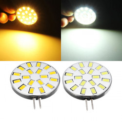 G4 3W Pure White/Warm White 18 SMD 5730 LED Light Lamp Bulb 12V
