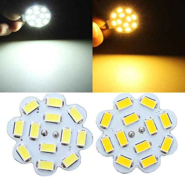 G4 3W weißes / warmes Weiß 12 SMD 5730 LED Licht Lampen Birne 12V LED Lampen