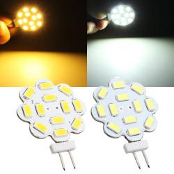 G4 3W weißes / warmes Weiß 12 SMD 5730 LED Licht Lampen Birne 12V