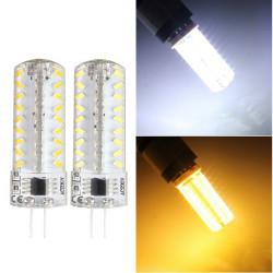 G4 3W weißes / warmes Weiß 72 SMD 3014 dimmbare LED Mais Glühlampe 220V