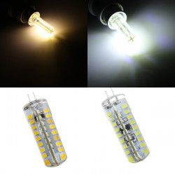G4 4W White/Warm White 72 SMD 2835 Dimmable LED Corn Light Bulbs 220-240V