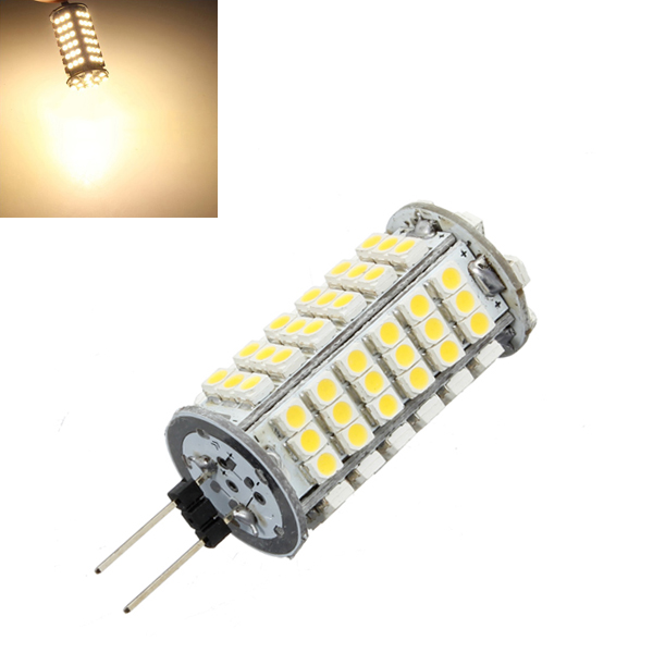 G4 6W Warm White 510LM 102 SMD 3528 LED Glühlampe DC 12V LED Lampen