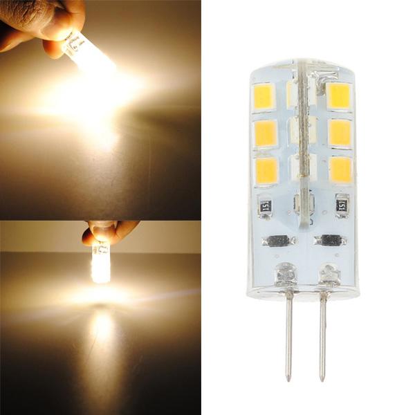 G4 LED Birne 2.5W 24SMD 3528 warme weiße Mais Glühlampe DC 12V LED Lampen