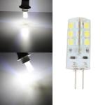 G4 LED Birne 2.5W 24SMD 3528 Weiß Mais Glühlampe DC 12V LED Lampen