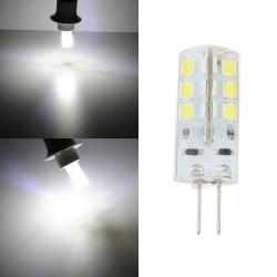 G4 LED Bulb 2.5W 24SMD 3528 White Corn Light Bulb DC 12V