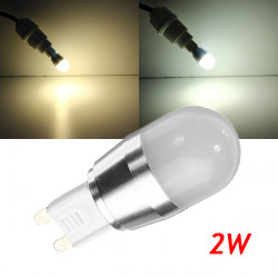 G9-L23-C 2W Warm White/White LED Aluminium Die Casting Bulb 230V