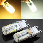 G9 2,5 W Pure Hvid / Varm Hvid 57 SMD 3014 LED Corn Pære 12V LED-pærer