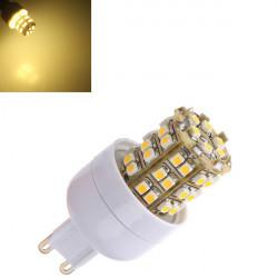 G9 2.5W warmes Weiß 48 SMD LED energiesparende Glühlampe 110 240V