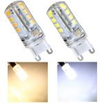 G9 2.8W AC 220V 32 SMD 2835 Cool Hvid / Varm Hvid LED Crystal Pære LED-pærer