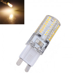 G9 3W Varm Vit 64 SMD 3014 LED Spotlight Lampor 220V