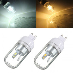 G9 3W White/Warm White 180-300LM 5730 SMD LED Light Corn Bulb 85-265V