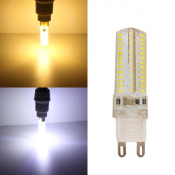 G9 4.5W Warm White/White AC 220V 104 SMD 3014 LED Spot Light Bulbs