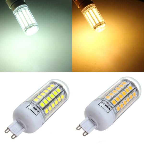G9 5.5W 828-1035LM White/Warm White 69 SMD5050 LED Light Bulbs 220V LED Light Bulbs