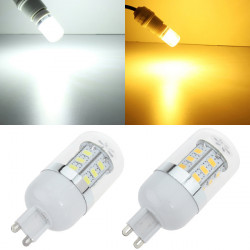 G9 LED Bulb Warm White/White 4.5W 24 SMD 5630 Corn Light AC85-265V