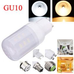 GU10 3,5 W Hvid / Varm Hvid 380LM 5730SMD 24 LED Corn Pærer 110V