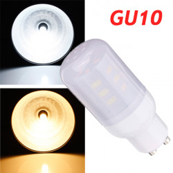 GU10 3.5W weißes / warmes Weiß 380LM 5730SMD 24 LED Mais Glühlampe 220V