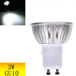 GU10 3W LED Spotlight Lampa Vit Lågenergilampa AC 85-265V