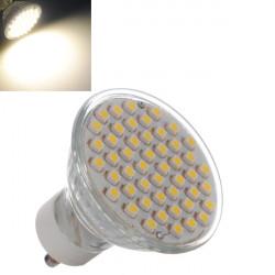 GU10 3W wärmen Weiß 48 SMD 3528 LED Spot Licht Lamb Birne 195 240V