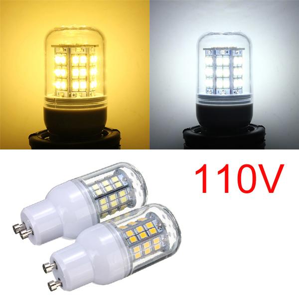 GU10 3W Varm Hvid / Hvid 48 LED 2835 SMD Corn Lys Pære Lampe 110V LED-pærer