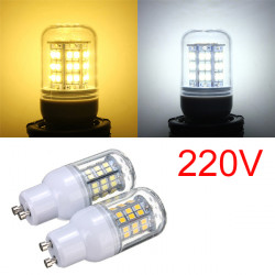 GU10 3W Warm White/White 48 LED 2835 SMD Corn Light Bulb Lamp 220V
