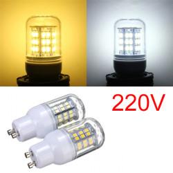 GU10 3W Varmvit / Vit 48 LED 2835 SMD Lampa 220V