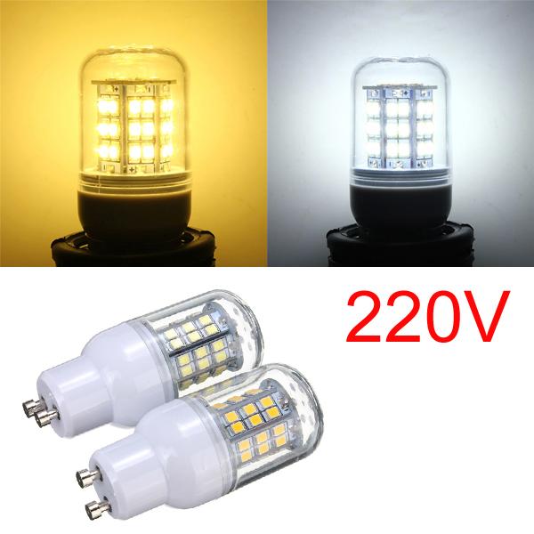 GU10 3W wärmen Weiß / Weiß 48 LED 2835 SMD Mais Glühlampe Lampe 220V LED Lampen