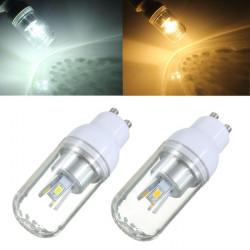 GU10 3W weißes / warmes Weiß 6 SMD 5730 LED Licht Mais Birne 85 265V