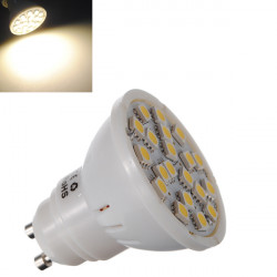 GU10 5W 320LM Varmvit 20 SMD 5050 LED Spotlight Lampa 220V