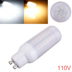 GU10 5W 48 SMD 5730 AC 110V LED Corn Light Bulbs With Frosted Cover