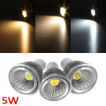 GU10 5W 500-550LM COB LED Spot Lamp Light Bulbs AC 85-265V LED Light Bulbs