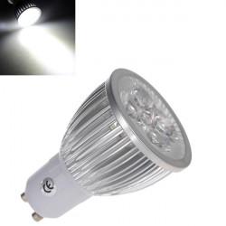 GU10 5W LED Spotlight Lampa Pure Vit AC 220V Energisparande