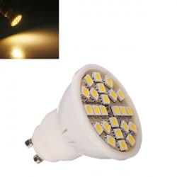 GU10 5W Varm Hvid 24 SMD 5050 LED Pære Lampe 110-240V