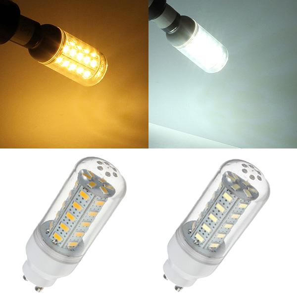 GU10 7W 36 LED 5730SMD Hvid / Varm Hvid Corn Lys Lampe Pære 220V LED-pærer