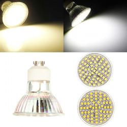 GU10 LED Bulb 5W AC 110V 60 SMD 3528 White/Warm White Spot Light