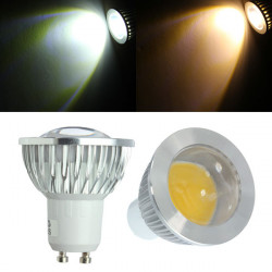 GU10 LED Leuchtmittel 3W COB AC 85 265V warmes Weiß / Weiß Spot Licht