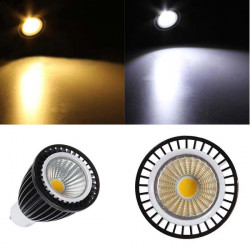 GU10 LED Dimmable 7W COB Spot Down Light White/Warm White Bulb AC 220V