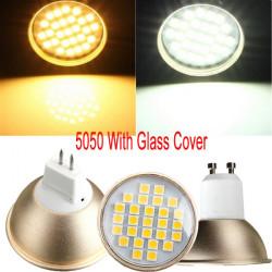 GU10/MR16 4W LED Spotlight 27 5050SMD 220V Warm White/ White Bulb Lamp