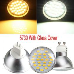 GU10/MR16 4W LED Spotlight 27 5730SMD 220V Warm/White Bulb Lamp