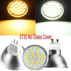 GU10/MR16 4W LED Spotlight  27 5730 SMD 220V Warm White/White Bulb Lamp
